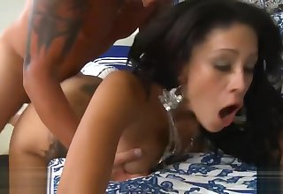 Jamie Valentine Gets Pounded By Tattooed Man
