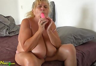 18 Years Old Widely applicable With Strapon Fucks Sbbws Old Granny
