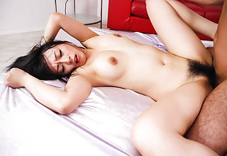 Busty Nozomi Hazuki enjoys two cocks all over will not hear of holes - Up convenient javhd.net